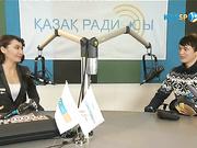 «Kazsport» на «Казахском радио». Абзал Ажгалиев
