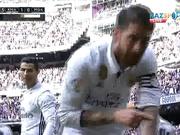«Реал Мадрид» - «Малага»: Серхио Рамостың бірінші голы - 1:0