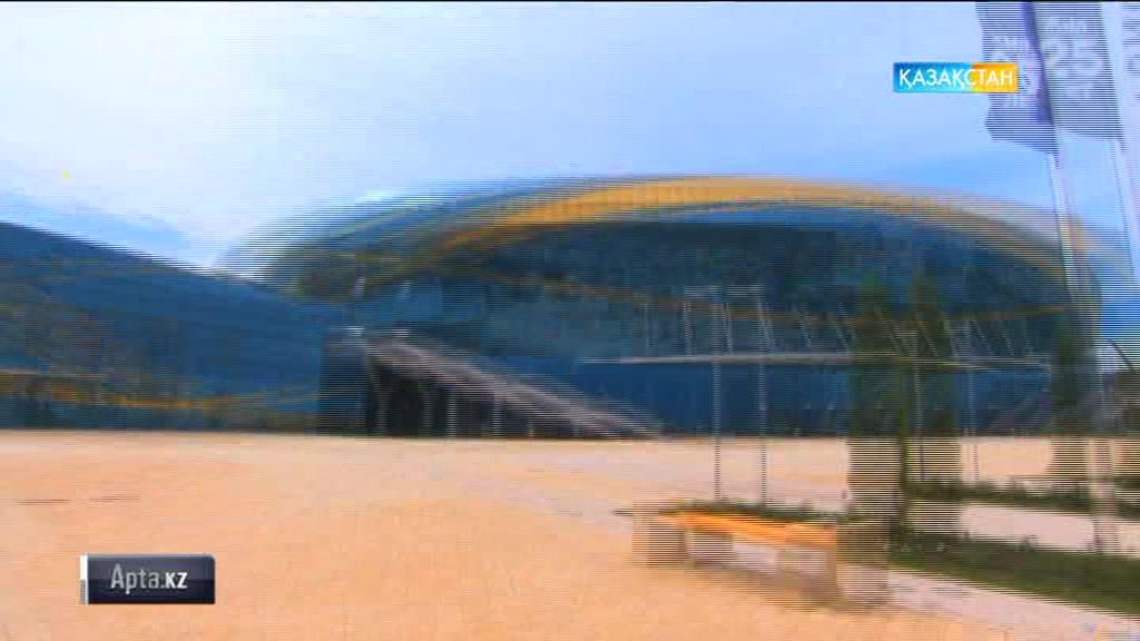 Универсиада ойындары өтетін спорт нысандары (БЕЙНЕБАЯН)