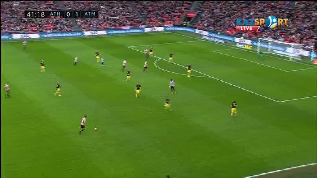 «Атлетик» - «Атлетико»: Иньиго Лекуэнің голы - 1:1