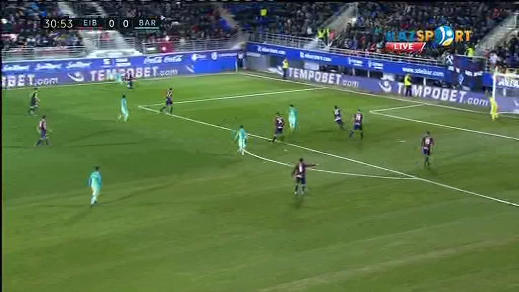 «Эйбар» - «Барселона» кездесуіне видеошолу