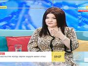 Әнші, актриса Қарагөз Тілеубекова «Таңшолпанда» қонақта