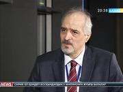 Студия қонағы – Сирияның БҰҰ-дағы тұрақты өкілі Башар әл-Жаафари