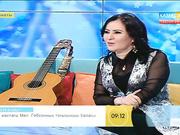 Әнші Гаухар Әлімбекова «Таңшолпанда» қонақта (ВИДЕО)