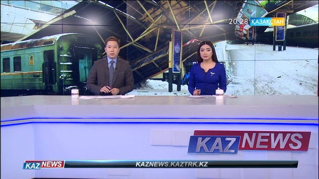 Астана вокзалында декоративті нысанның бірі құлады