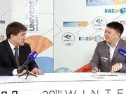 Универсиада алауы аясында. Бағдарлама қонағы - Алматы қаласының  Дене шынықтыру және спорт басқармасының басшысы Әбіл Доңбай