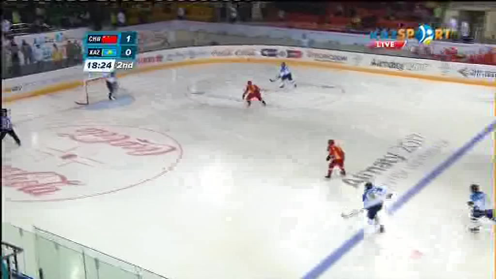 Универсиада-2017. Хоккей. Қытай - Қазақстан: Қонақтардың екінші голы - 2:0