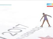 Универсиада-2017. Мәнерлеп сырғанаушы Жансая Адыханованың еркін бағдарламада өнер көрсетуі