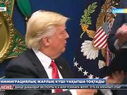 АҚШ президенті Дональд Трамптың иммиграциялық жарлығының күші күллі ел аумағында уақытша тоқтатылды