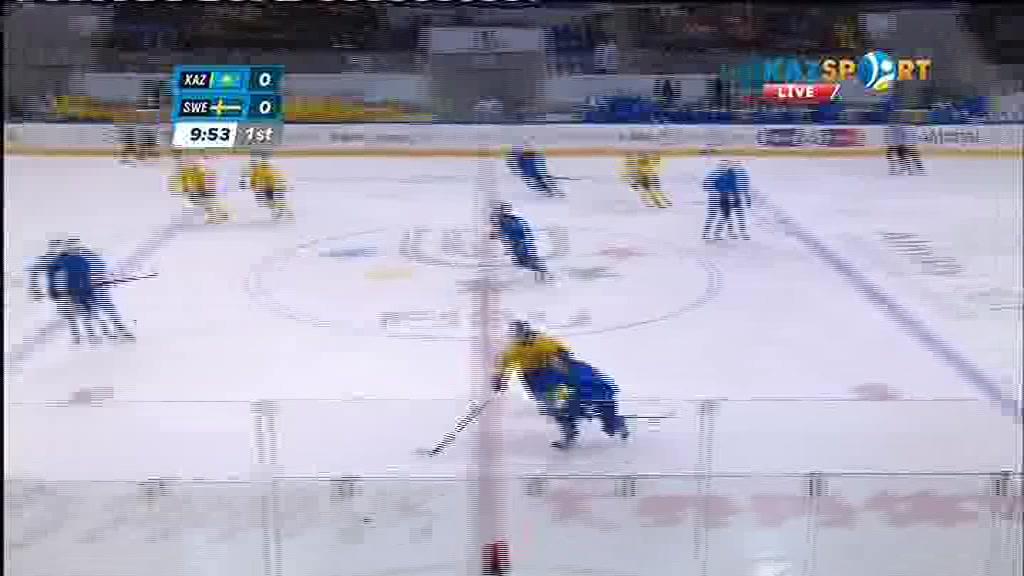Универсиада -2017. Қазақстан - Швеция хоккей кездесуінде отандастарымыз есепті ашты