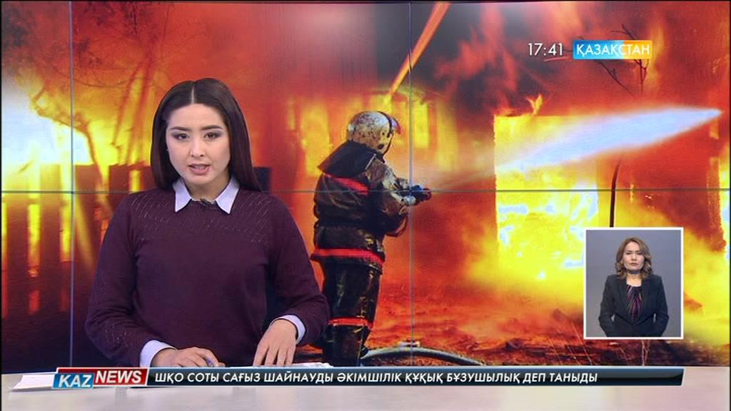 Шығыс Қазақстан облысының Аягөз ауданында  алапат өрт болды