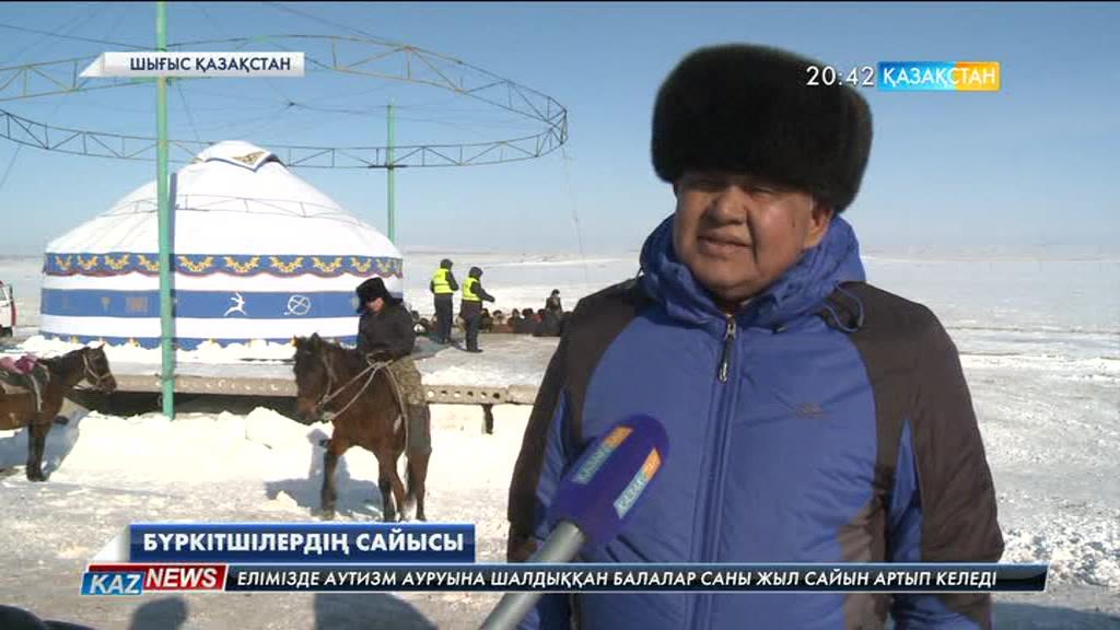 Шығыс Қазақстан облысының Аягөз ауданында бүркітшілердің республикалық сайысы өтті