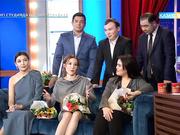 «Бизнес по-казахский» фильмінің актерлері «Түнгі студияда» қонақта