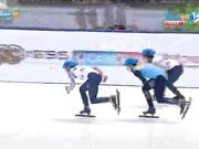 УНИВЕРСИАДА-2017. ШОРТ-ТРЕК. 1000 м (қыздар, ерлер). Бронза - Денис Никиша