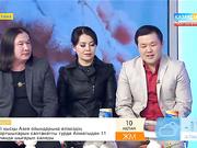 Әнші, композитор Халық Ризабек пен «Астана» тобы «Таңшолпанда» қонақта
