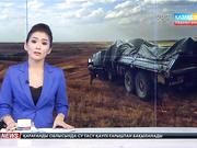 Жамбыл облысында  әскерилер мінген «КамАЗ» көлігі жол апатына ұшырады