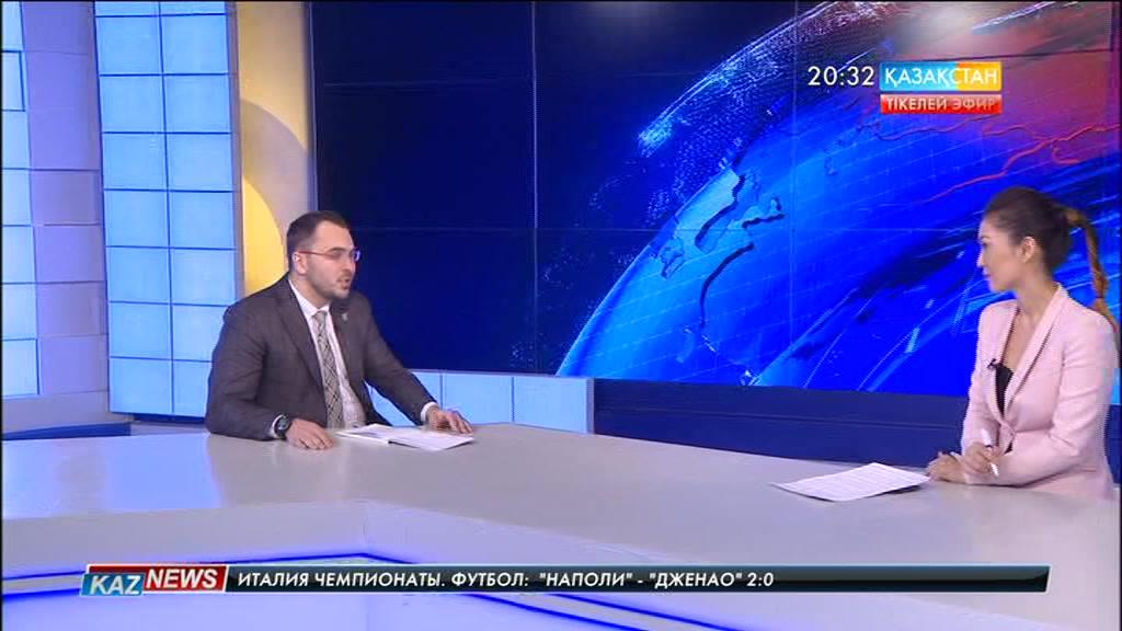 Студия қонағы - «Орталық коммуникациялар қызметі» РММ директоры Евгений Кочетов