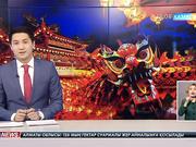 Қытайда дрондар жарықтар шоуын көрсетті