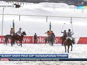 Алматыда тұңғыш рет қар үстіндегі  шөгеннен  халықаралық турнир өтуде