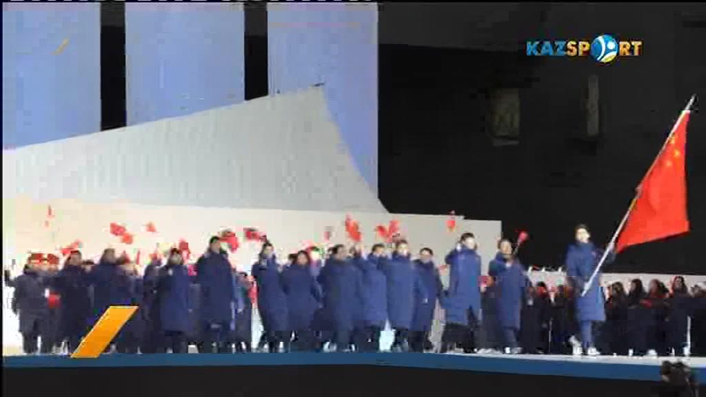 Ердос Ахмадиев: Нести флаг нашей страны - большая честь для меня