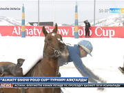«Almaty snow polo Cup» турнирі аяқталды