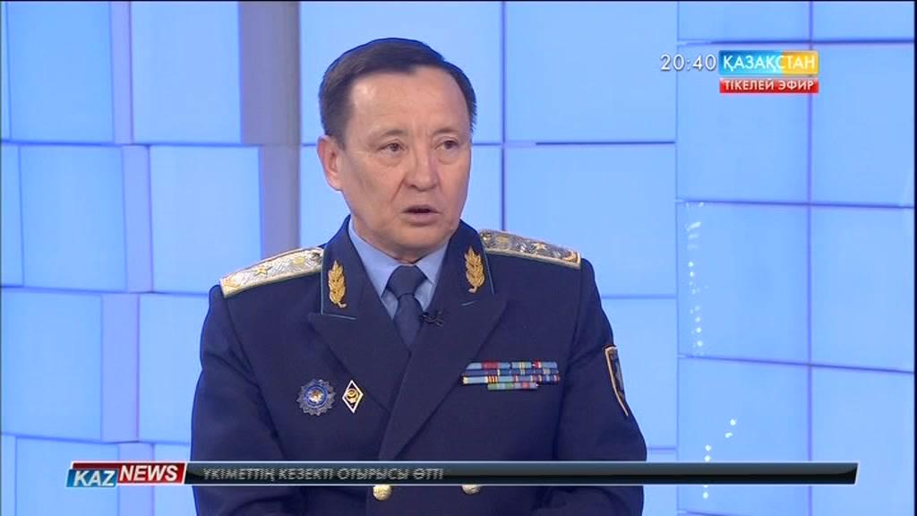 Студия қонағы – ҚР Бас прокуратурасының департамент директоры Серікбай Ерімбетов